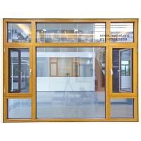 上海135系列窗纱一体铝合金门窗