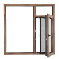 洛卡博门窗普罗旺斯系列BXT90S系统铝木窗