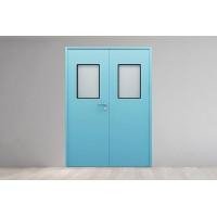 医院洁净门厂家直销  洁净门根据材质型式有哪些分类