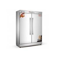 龙岩不锈钢远红外线双开门餐具消毒柜