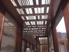 上海小区不锈钢廊架
