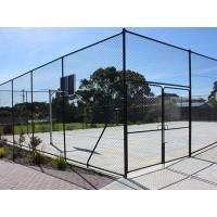 杨凌示范区运动场围栏网 网球场护栏网 羽毛球场隔离网加工
