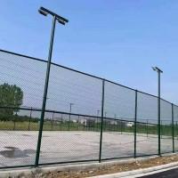 安康市足球场围网 操场勾花网 运动场护栏网