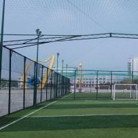 榆林市笼式足球场护栏网 篮球场隔离网 体育场勾花网