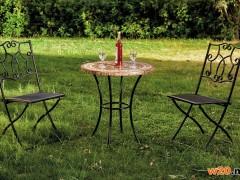 阳台咖啡桌椅 大理石桌子