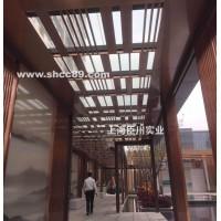 上海不锈钢廊架定制 景观廊架