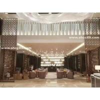 上海不锈钢屏风定制 酒店屏风